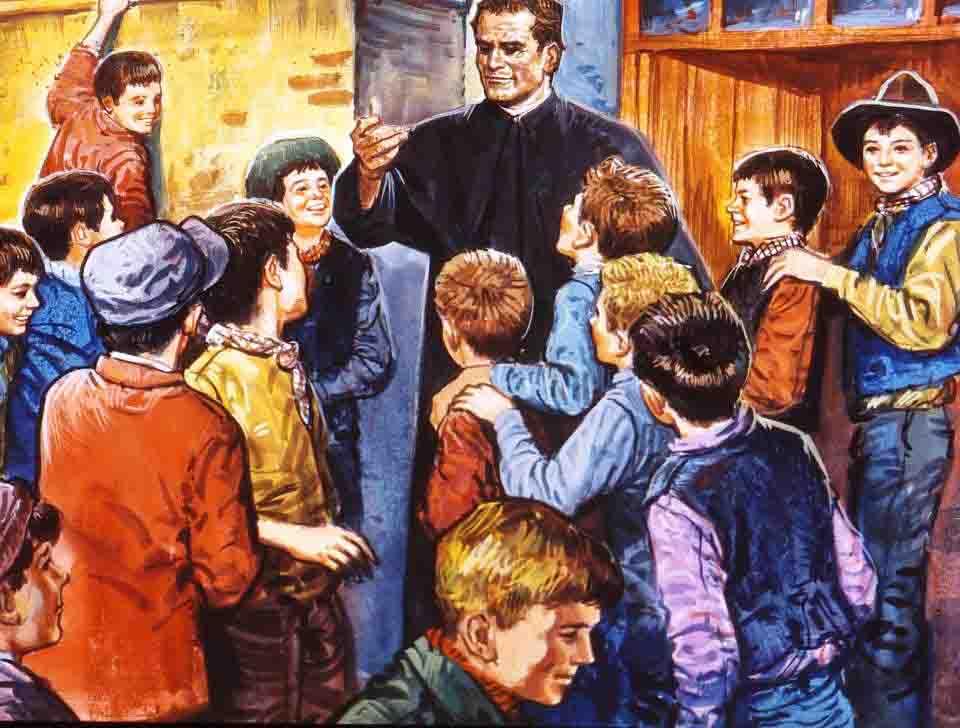 Dia De La Tierra Vida De Don Bosco