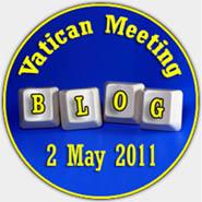 Blogueiros no Vaticano