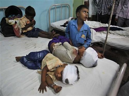 Muzzaffarnagar victims...