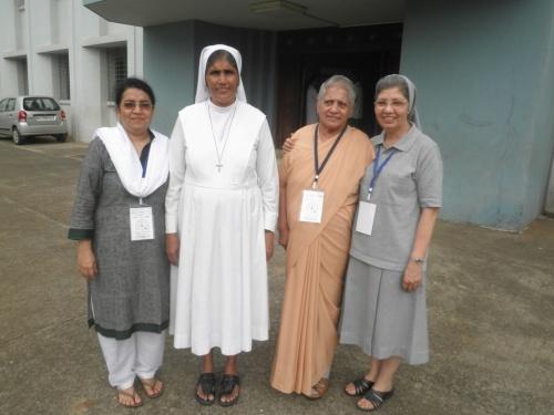 Salesian Sisters at the Don Bosco Communications South Asia meet at Mumbai, 16-18 Oct 2013