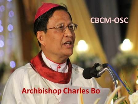 Archbishop Charles Bo, SDB