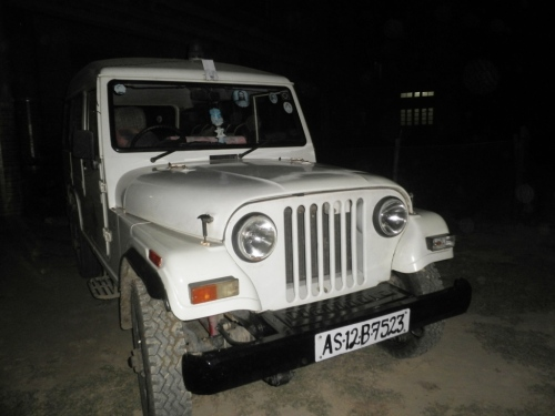 DB Centre jeep that was snatched from thieves