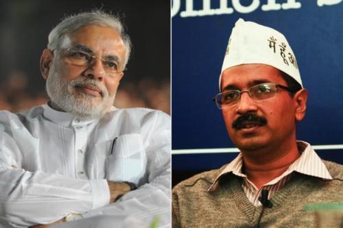 Narendra Modi - Arvind Kejriwal