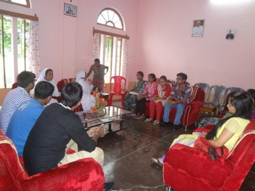 Auxilium Tangla alumni meeting