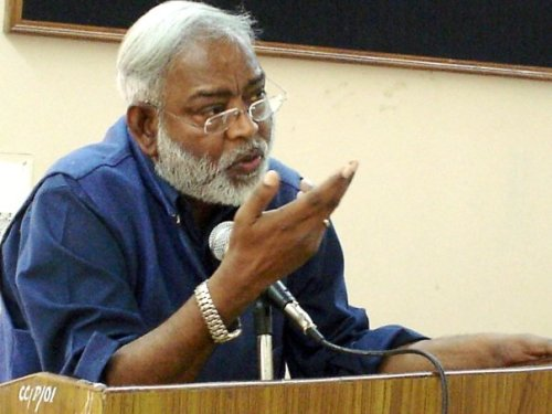 Rights activist Dr John Dayal