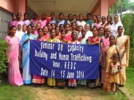Assam women discuss human trafficking