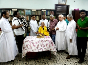 Birthday celebrations for Fr Joseph Punchakunnel