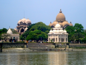 The Belur math, Ramakrishna Ashram - view from Hooghly river