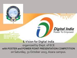 e-Vision poster